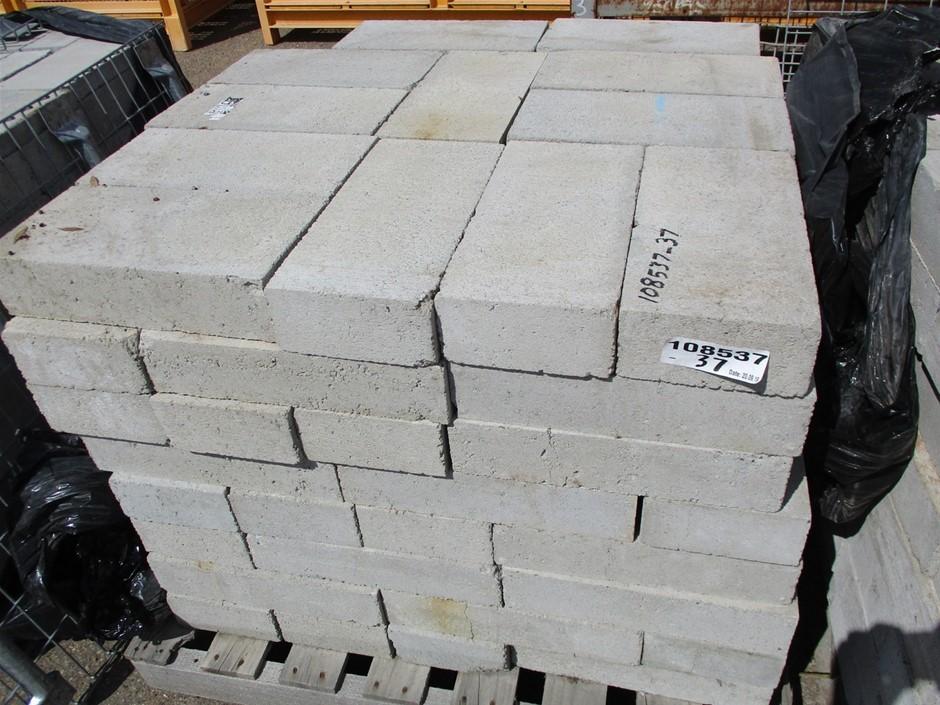 Qty Approx. 96x Concrete Blocks