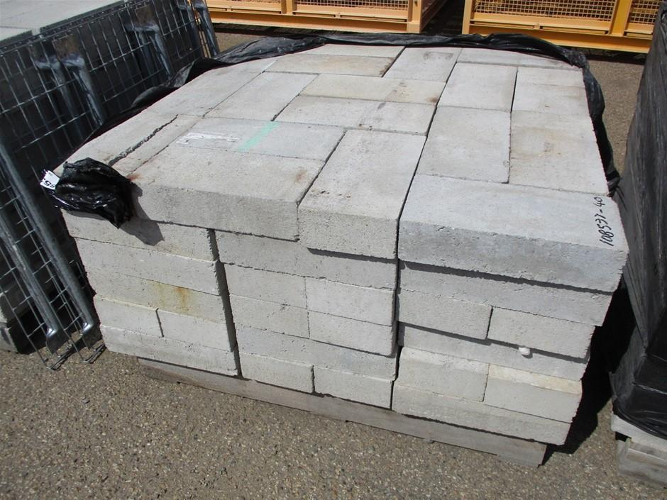 Qty Approx. 106x Concrete Blocks