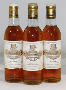 Chateau Coutet 1er Grand Cru Barsac 1980