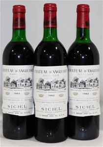 Chateau d'Angludet Margaux 1982 (3x 750m