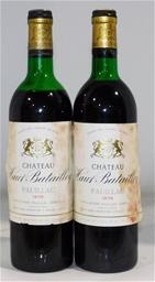 Chateau Haut Batailley 1er Grand Cru Pauillac 1978 (2x 750ml), Bordeaux
