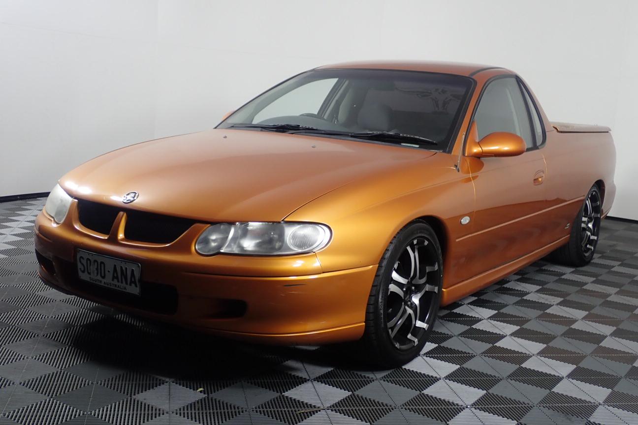 2001 Holden Commodore S VU Manual Ute