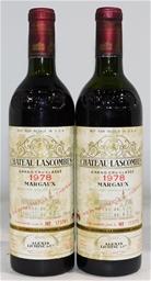 Chateau Lascombes Margaux 1978 (2x 750ml), Bordeaux. Cork closure.