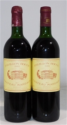 Chateau Margaux Pavillon Rouge 1989 (2x 750ml)