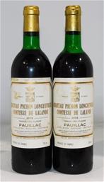 Chateau Pichon Longueville Comtesse de Lalande Pauillac 1978 (2x 750ml)