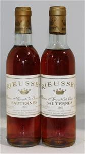 Chateau Rieussec Sauternes 1981 (2x 375m