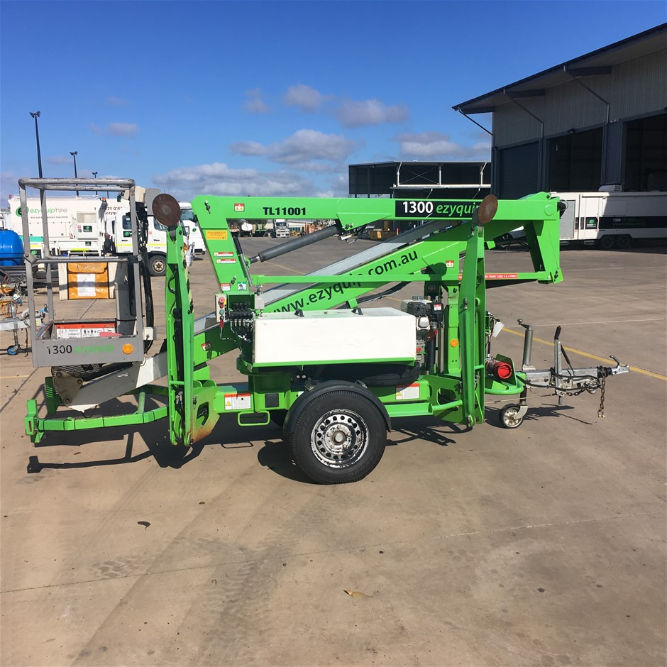 2012 Nifty Lift 120TP Trailer Mounted Cherry Picker