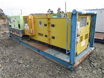 2 x Skid Mounted Generators
