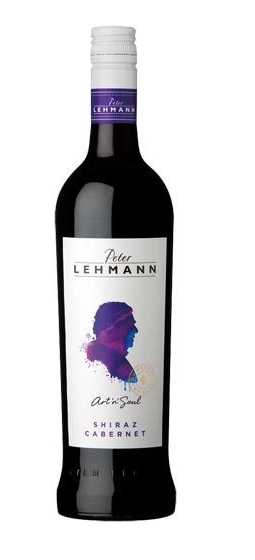 Peter Lehmann `Art n Soul` Shiraz Cabernet 2014 (12 x 750mL) SA.