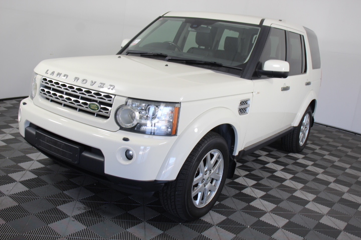 2009 Land Rover Discovery 4 2.7 TDV6 Series 4 T-Diesel Auto 7 Seats Wagon