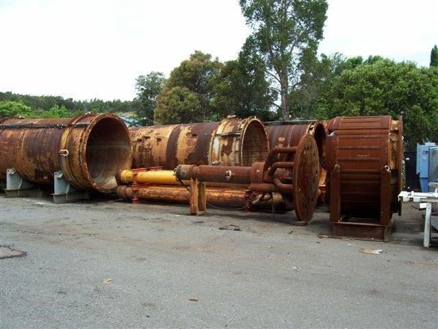 "Atlas Copco Tunnel Boring Machine - Model: CD 88 - 88"" Cluster Drill"
