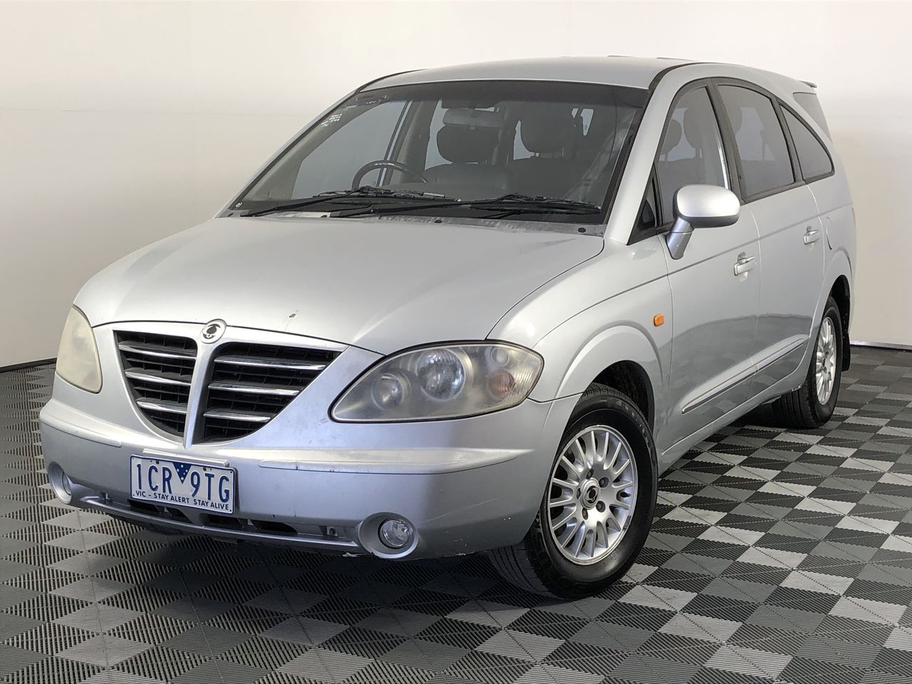 2006 Ssangyong Stavic SV270 Sports Plus Turbo Diesel Manual 7 Seats