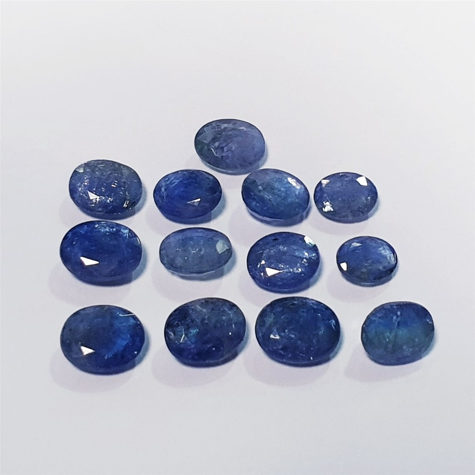 Parcel of Oval Cut Tanzanite 59.83 Ct in Total