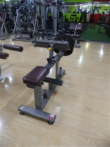 Lexco NML-3322 Plate Loaded Seated Calf