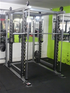 Lexco Smith Machine and Power Rack