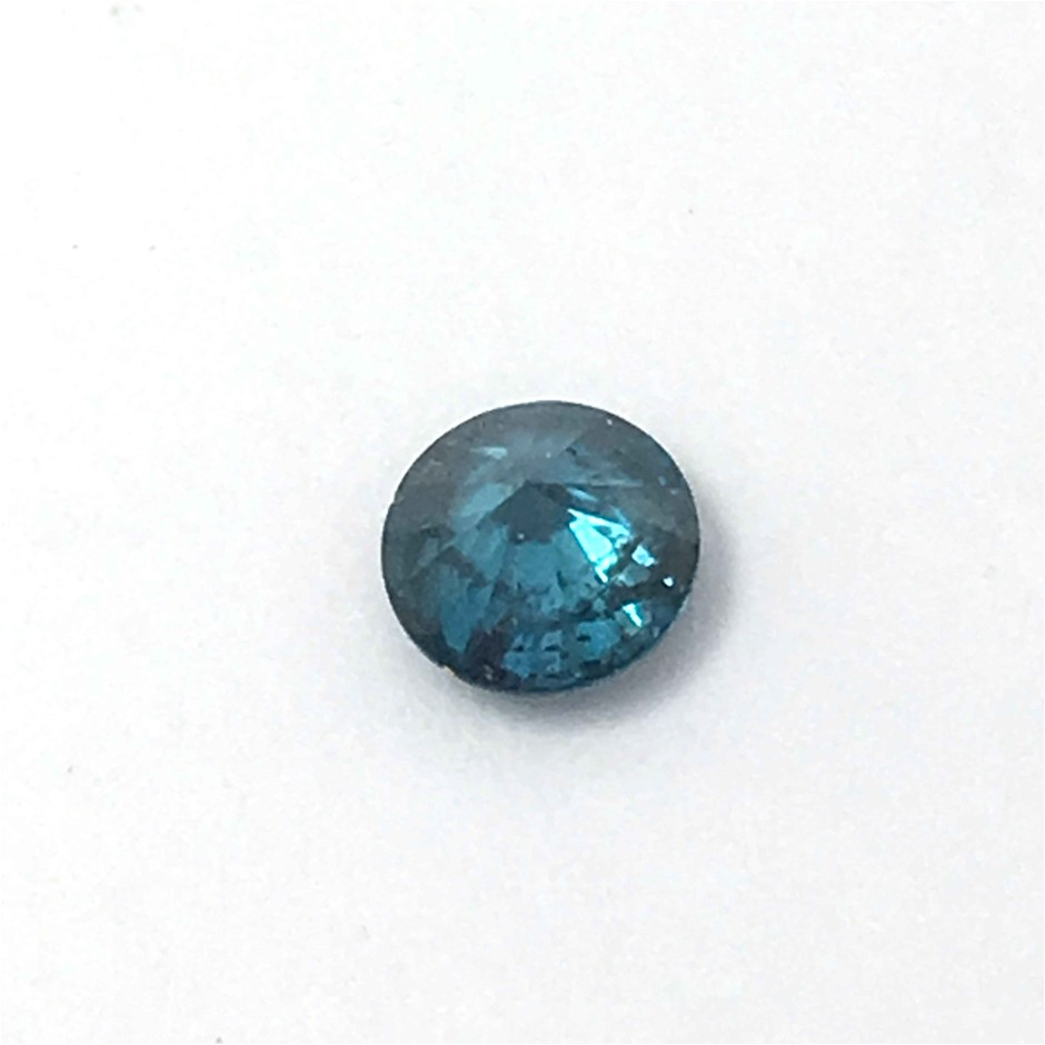 One Stone Blue Diamond 0.15ct in Total