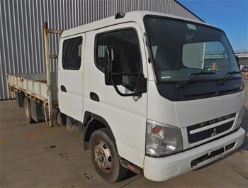2009 Mitsubishi Fuso Canter 7/800 4x2 Tray Body Truck