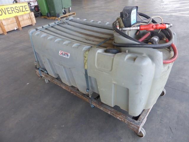 Silvan Selecta 600 Litres Diesel Tank With Pump (Pooraka, SA)