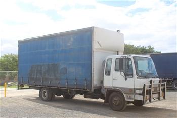 1996 Hino FD 4 x 2 Curtainsider Rigid Truck