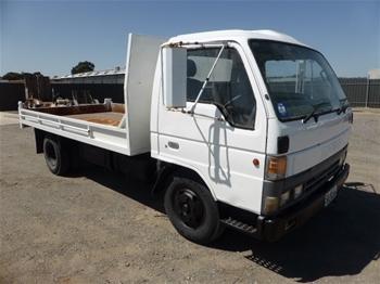 Unreserved 1996 Mazda T4000 4x2 Tipper Truck