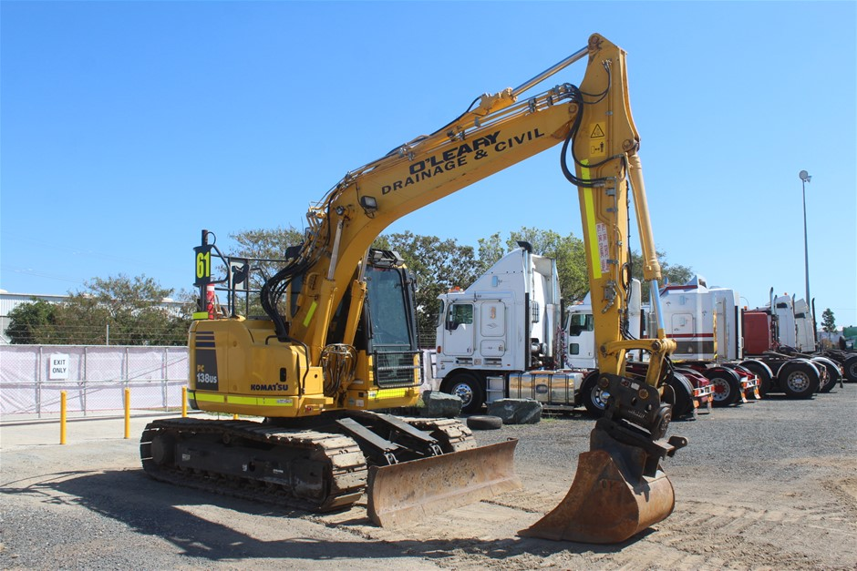 2016 Komatsu PC138US Hydraulic Excavator