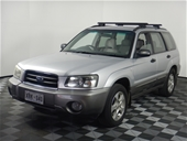 Unreserved 2004 Subaru Forester XS Manual Wagon