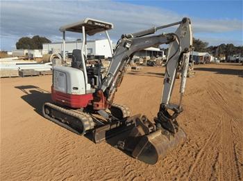 2009 Takeuchi TB23R Mini Excavator