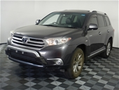 Unreserved 2012 Toyota Kluger Grande (4x4) Automatic