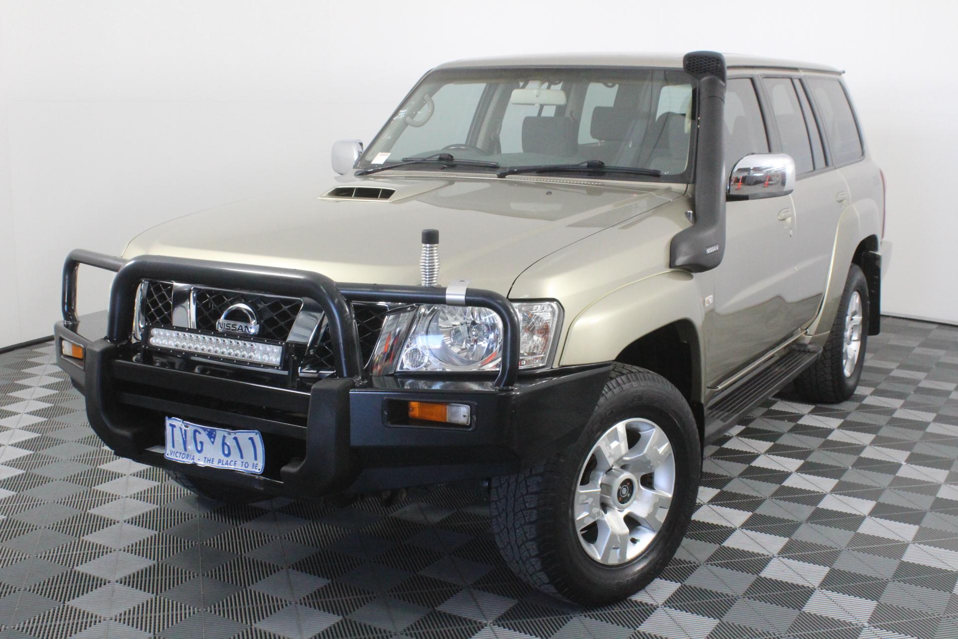 2005 Nissan Patrol ST (4x4) GU II Turbo Diesel Manual 7 Seats Wagon