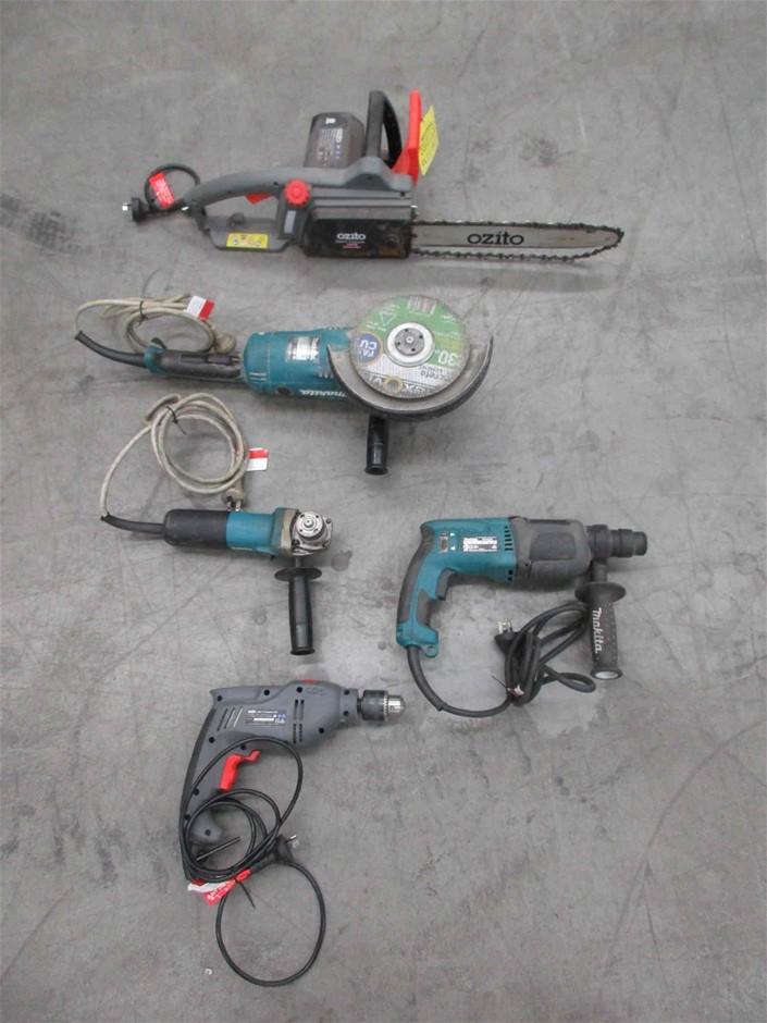 Various Power Tools - 240V