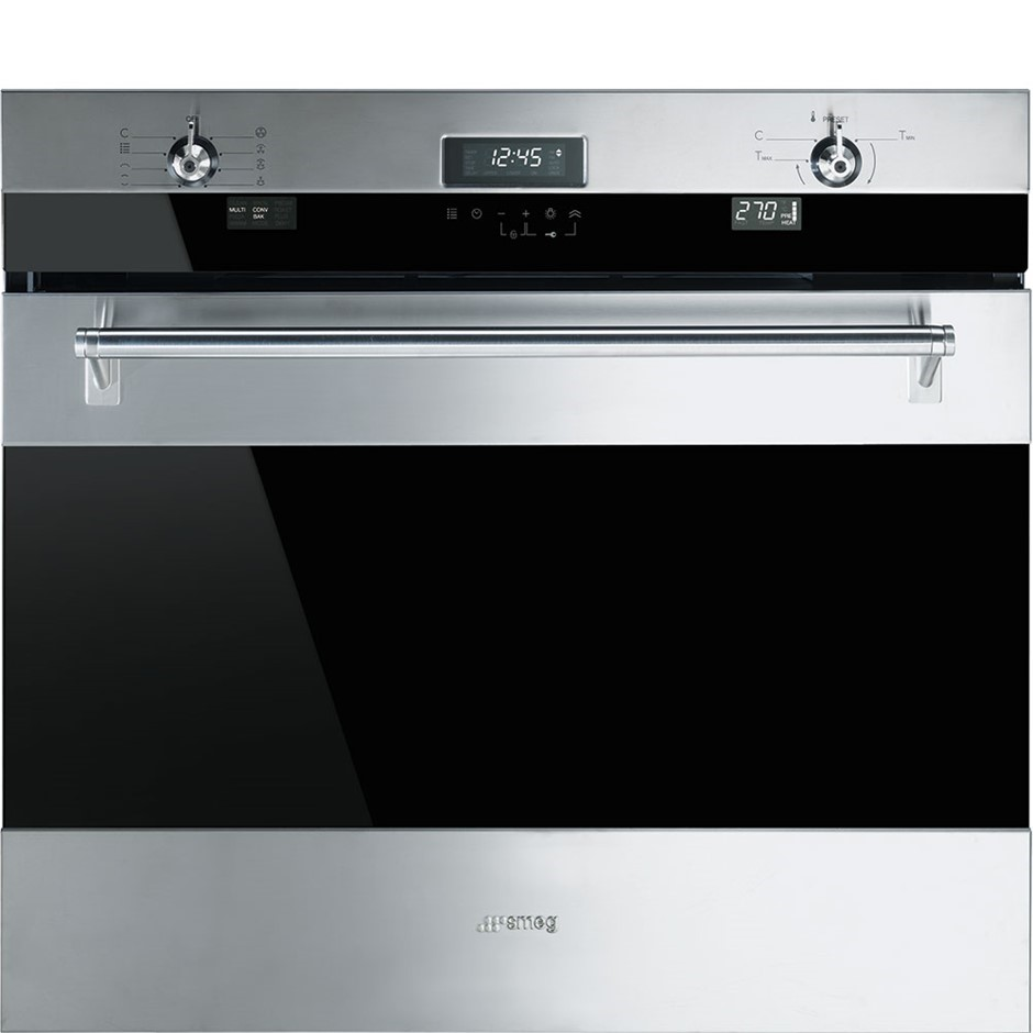 Smeg 75cm Stainless Steel Thermoseal Oven, Model: SOA330X1