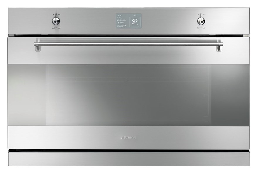Smeg 90cm Stainless Steel Thermoseal Oven, Model: SAP3900X