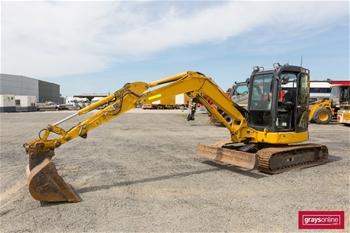 2014 Komatsu PC55MR-3 Excavator