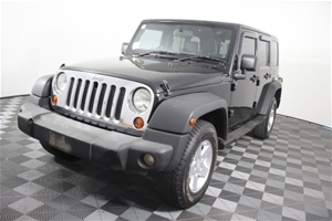 2008 Jeep Wrangler Unlimited 4WD (Servic