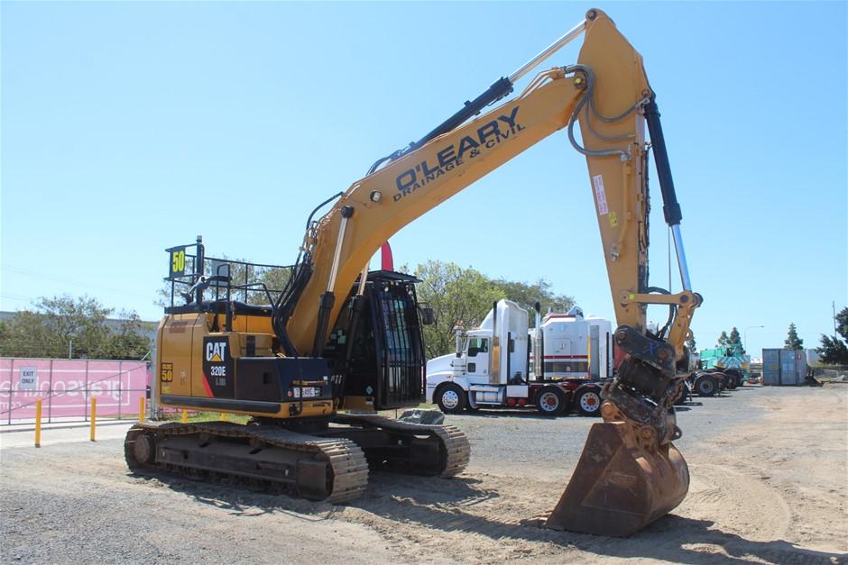2015 Caterpillar 320ELRR Hydraulic Excavator