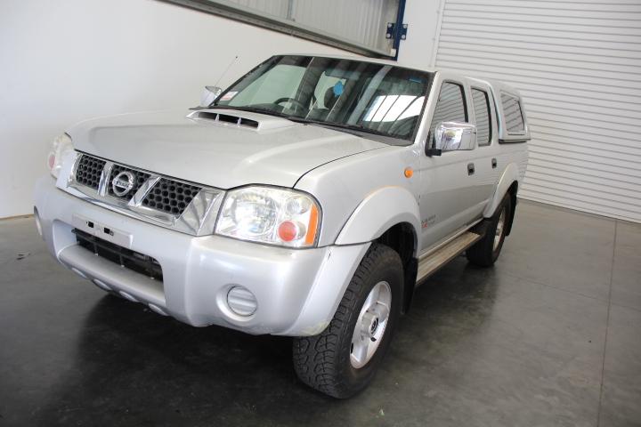2010 Nissan Navara ST-R (4x4) D22 Turbo Diesel Dual Cab