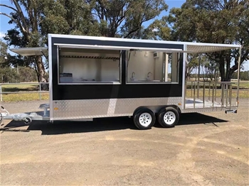 Food Trailer 740 with Porch - 2019