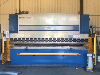 2009 Steel Master CNC Press Brake - 135 Tonne