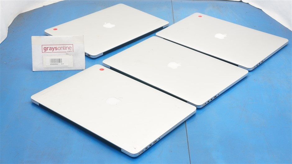 Faulty Apple MacBook Pro Retina Display 15.6-Inch Notebook (4-Pack)