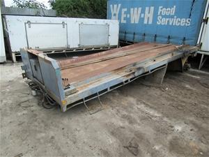 Truck Body Bin Lifter Tray
