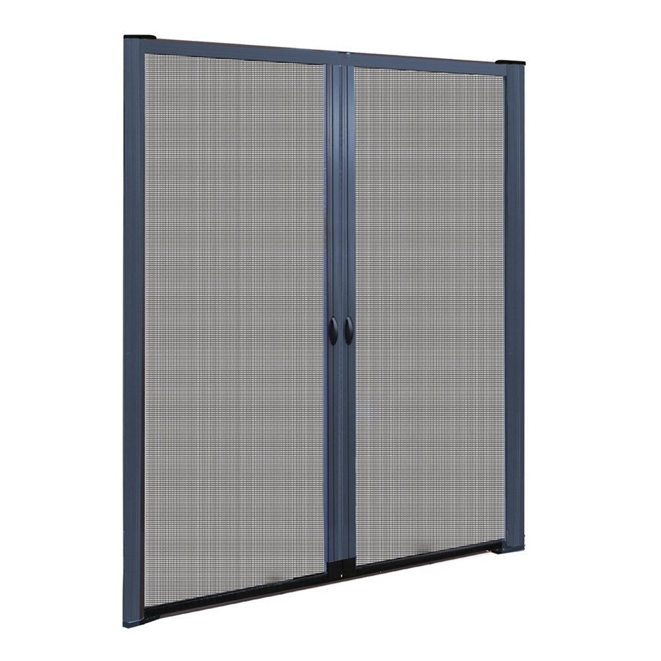 Instahut Retractable Magnetic Fly Screen Door Mesh Sliding 1.8m x 2.1m