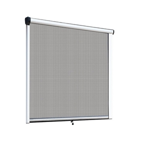 Instahut Retractable Window Fly Screen F