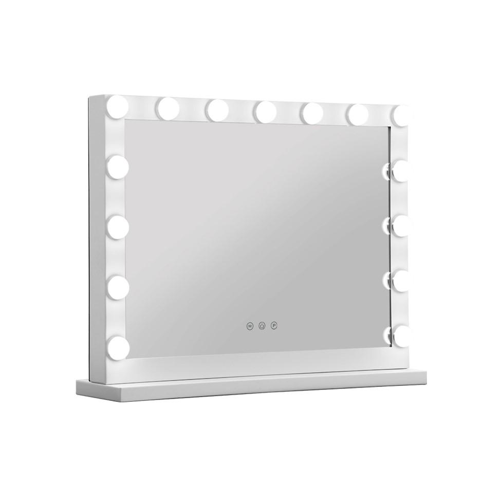 Embellir Makeup Mirror With Light Hollywood 15 LED Bulbs Vanity