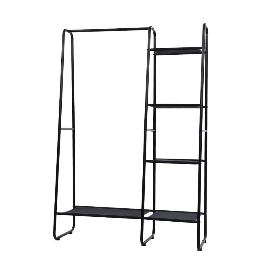 Portable Clothes Rack Garment Hanging Stand Closet Storage Organiser Home