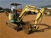 2002 Yanmar V1027 Rubber Tracked Mini Excavator with Bucket
