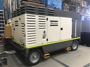 Diesel Air Compressor - Atlas Copco