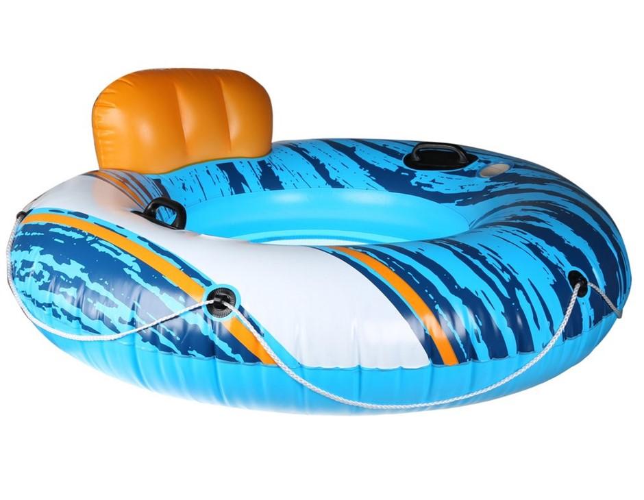 BESTWAY Inflatable Blow Up Pool Chair Tube. N.B not in original box. (SN:CC