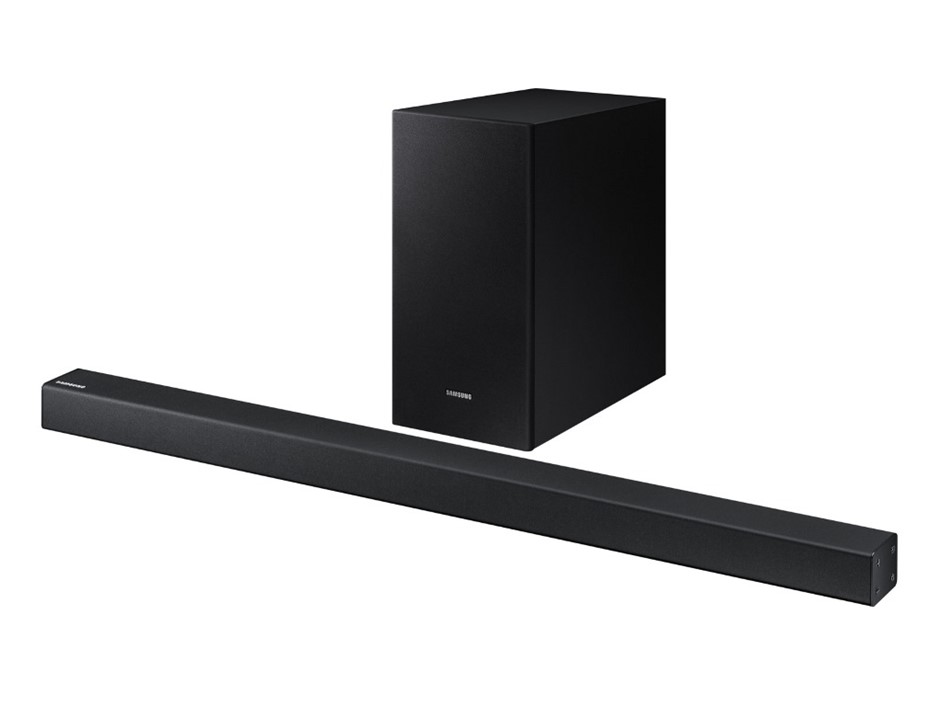 SAMSUNG Soundbar R450 w/ Bluetooth, 200W Powerful Base, Remote Control. (SN