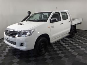 2015 Toyota Hilux SR 4WD Dual Cab Ute