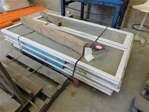 3 x Aluminium Windows